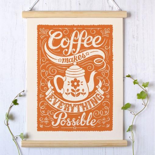 coffee.orange.unframed