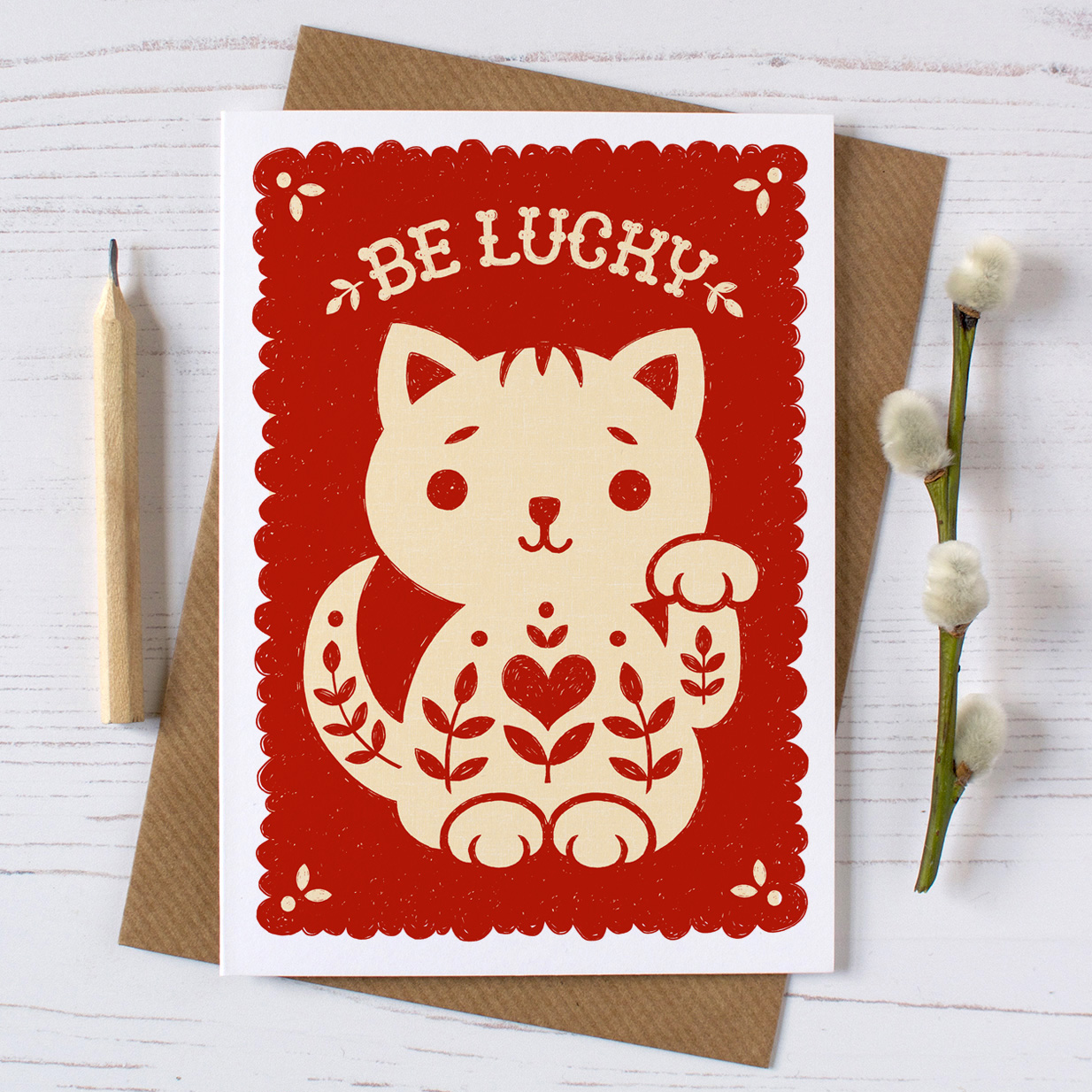 be.lucky.cat.card.envelope