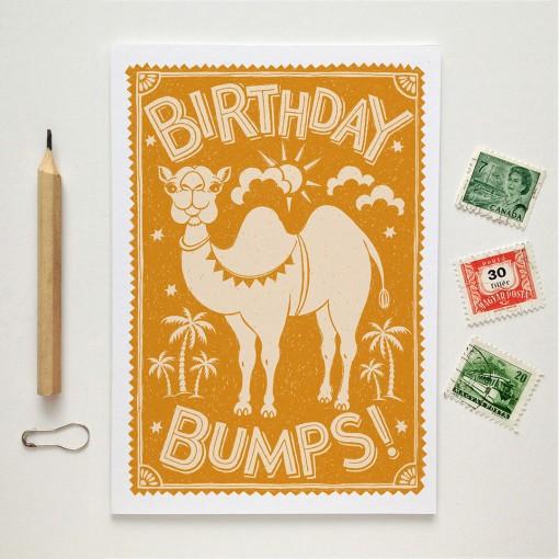 BIRTHDAY.BUMPS.CARD
