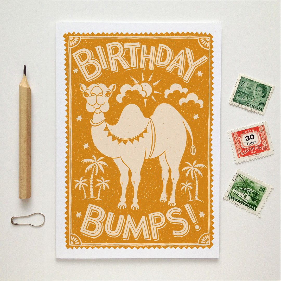 BIRTHDAY.BUMPS.CARD