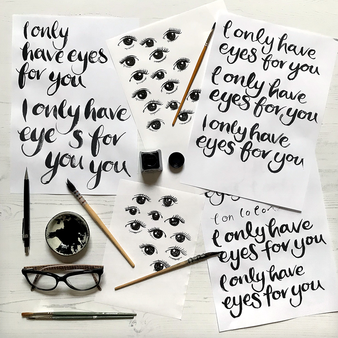 eyes.for.you.brush.lettering.wip.small