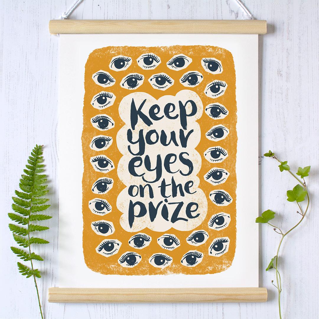 eyes.prize.hanger