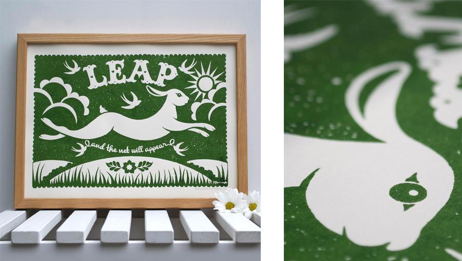 Leap Print