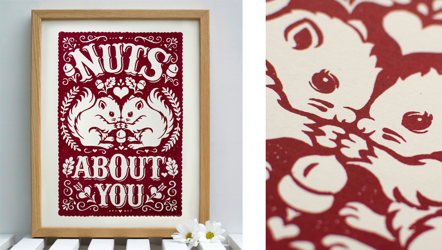 Nuts About You Print