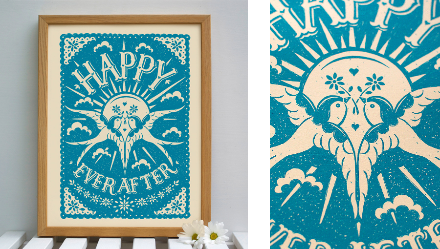 happy ever after print