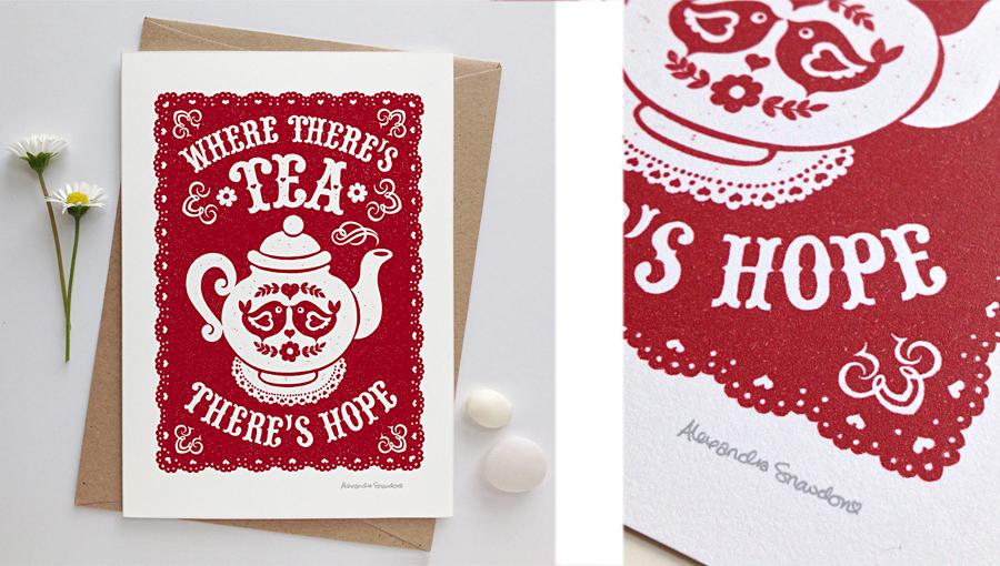 Tea card