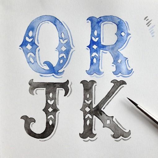 watercolor.font.wip.2