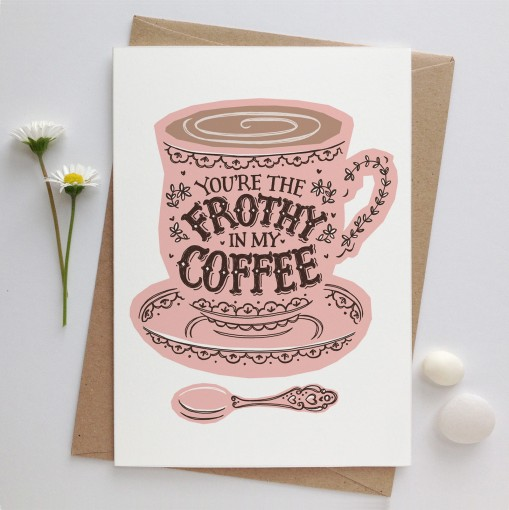 frothy.coffee.card.envelope